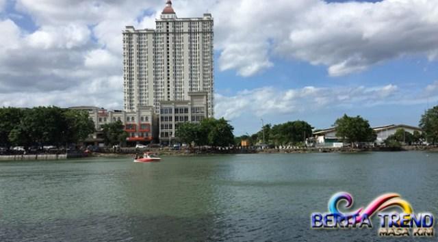 Sandiaga Uno Memastikan Air Danau Sunter Bersih, Sebelum Festival