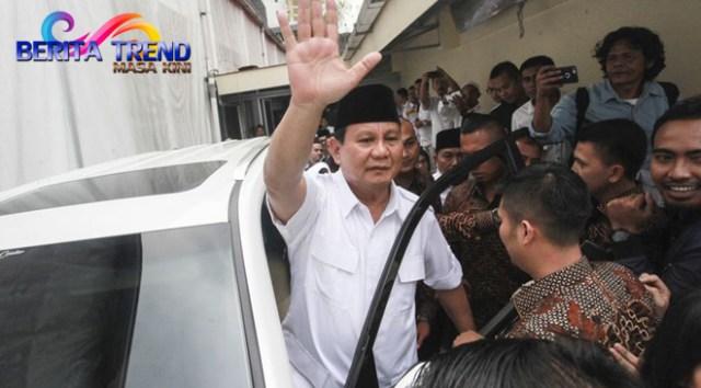 Prabowo Tegaskan Prabowo Tetap Akan Maju Jadi Capres 2019