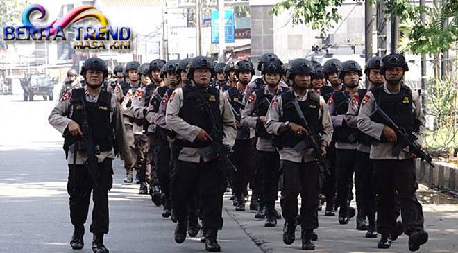 Napi Menguasai 3 Blok Mako Brimob, Polisi Mengangkat Senjata
