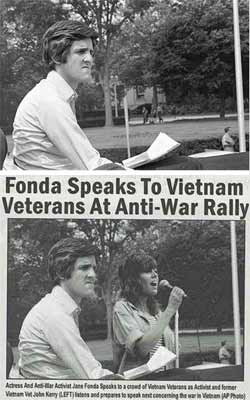 John Kerry and Jane Fonda Fake Image