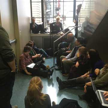 Ad-Hoc Committee meeting addresses protest demands