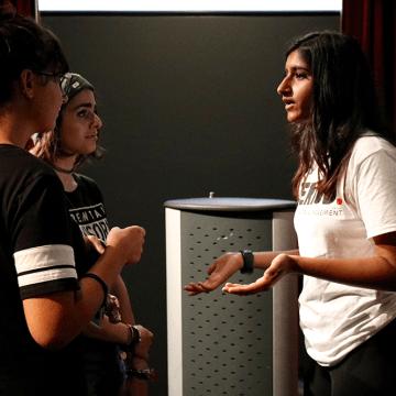Freshman brings menstrual movement to campus