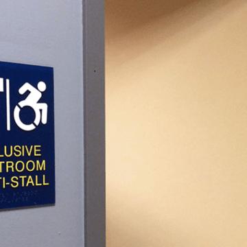 Gender inclusive restrooms added
