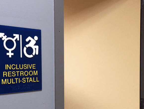 Gender inclusive restrooms added