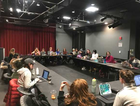 SGA discusses plan for Board of Trustee meeting