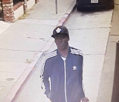 """After Ramos' slaying, Oakland police released this photo of """"a person of interest,"""" who turned out to be Marquise Holloway ."""