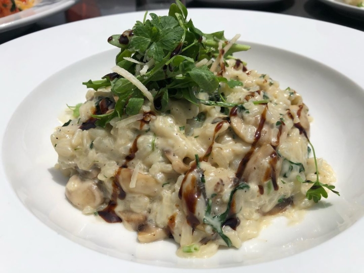 Risotto al Tartufo di Funghi from Italy on Gilman in Berkeley. Photo: Italy on Gilman