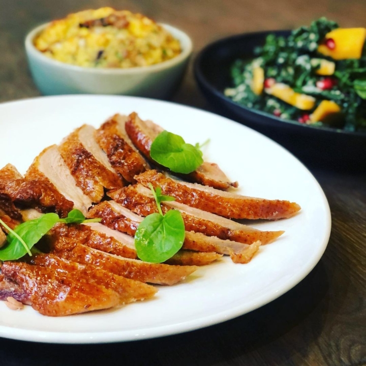 You don't have to eat turkey on Thanksgiving. The Wolf in Oakland is serving up duck. Photo: The Wolf