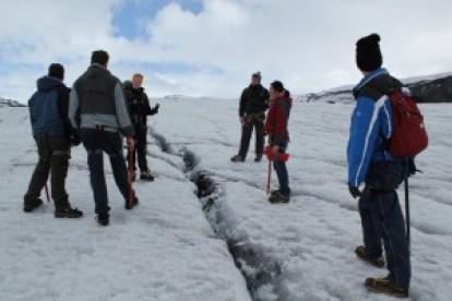 Iceland Solheimajokull glacier 3