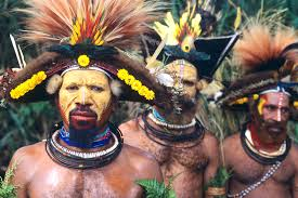 PNG tribesmen