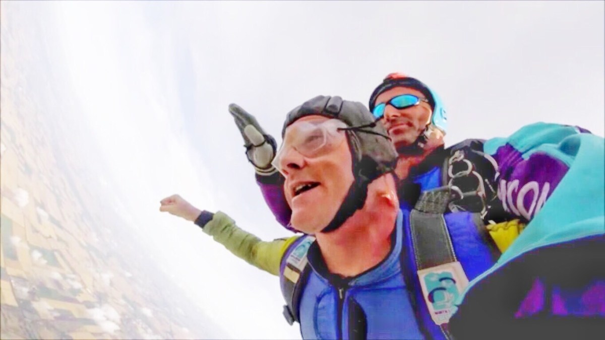 Jumping out of a plane with North London Skydiving: Best. Thing. Ever.