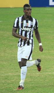 Pogba playing for Juventus in 2014