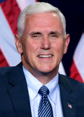 Republican governor (IN) and Vice presidential candidate Mike Pence