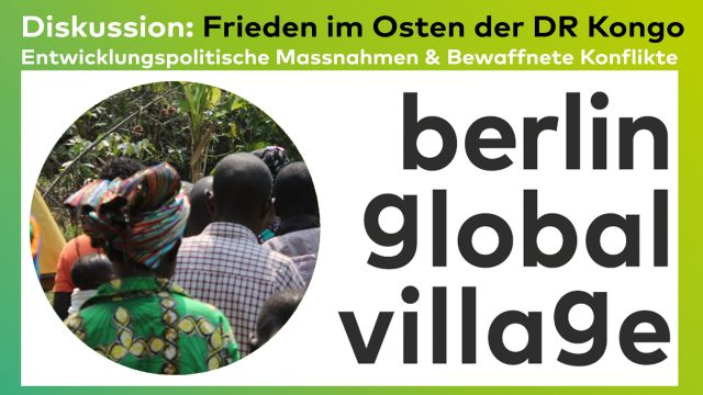Diskussionsveranstaltung: Frieden im Osten der DR Kongo