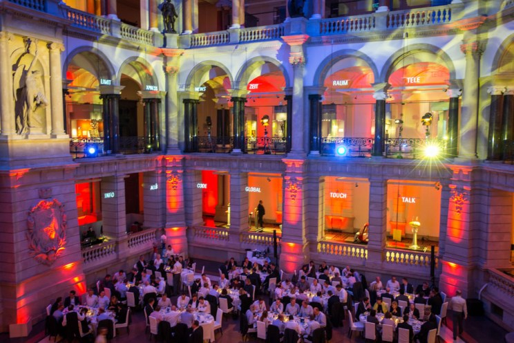 Gala Dinner, Event in Berlin Museum für Kommunikation