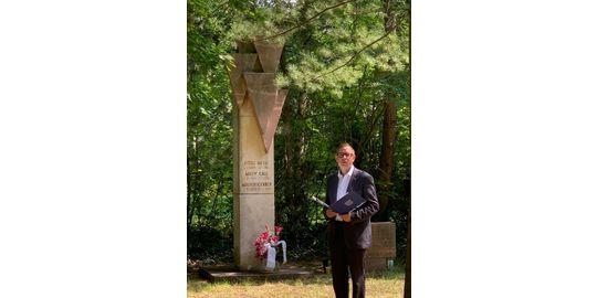 Oliver Igel Gedenkveranstaltung zum 80. Todestag von Otto Gall und Willi Nelte