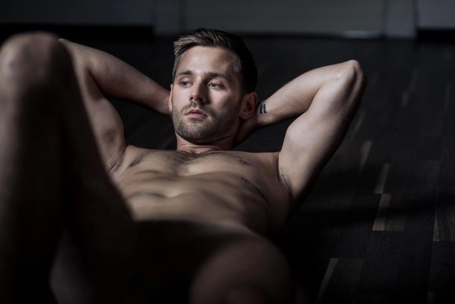 Erotisches Männershooting, gay