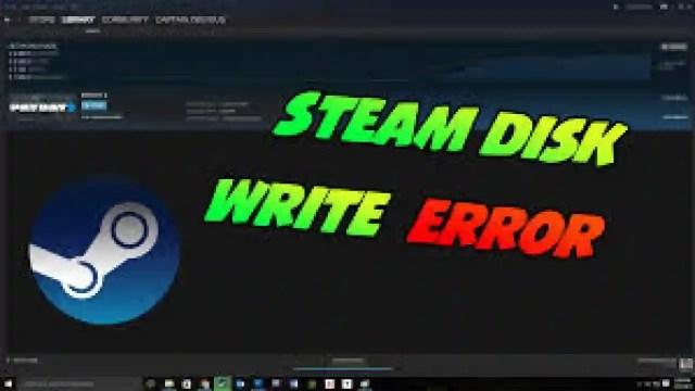 Solved - Steam Disk Write Error – How to Fix It - berlincommunityradio