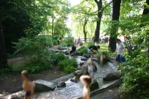 Der Bachlauf des Viktoria Parks Kreuzberg (kostenlos)