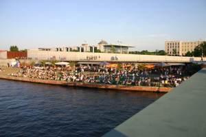 Spreebar Capital Beach am Hauptbahnhof