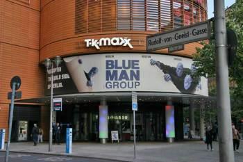 Bild Bluemax am Marlene Dietrich Platz