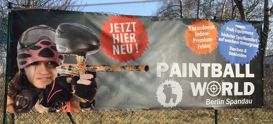 Bild Paintball World Spandau