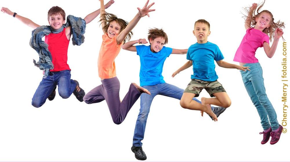 Bild Kindergeburtstag Jump Trampolinpark Berlin