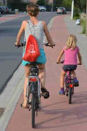 Foto Fahrrad fahren Stadt