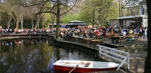 Biergarten Cafe am neuen See  im Tiergarten