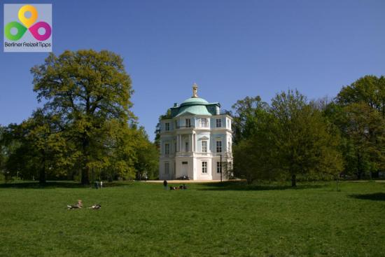 Bild Schloßpark Charlottenburg Belvedere