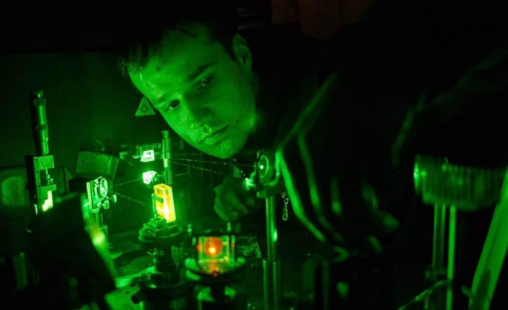 Bild experimentieren Laser