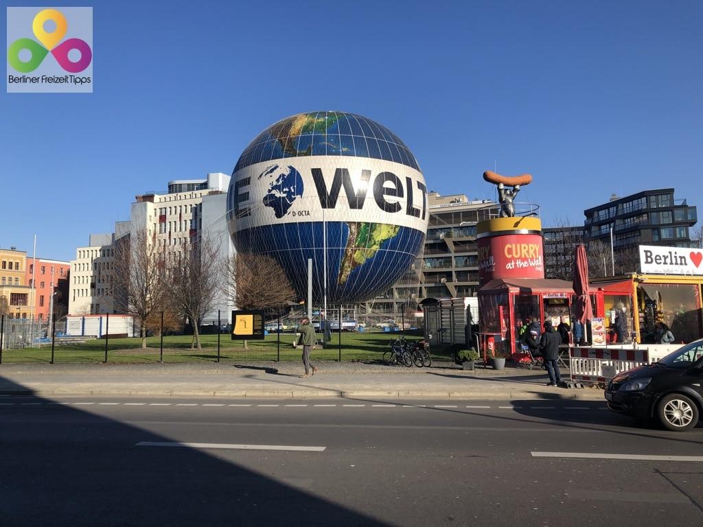 Bild Highflyer Welt Ballon Panoramablick Berlin