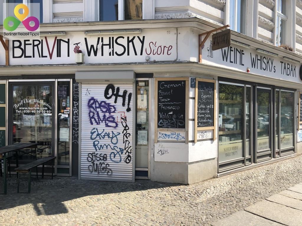 Bild BerlVin Whisky Store Prenzlauer Berg