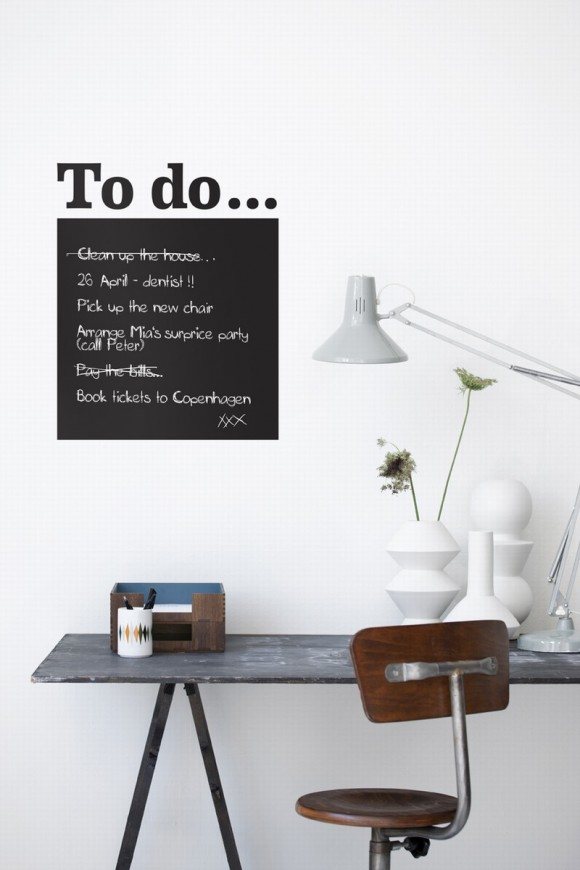 Wandsticker To do Liste von ferm LIVING