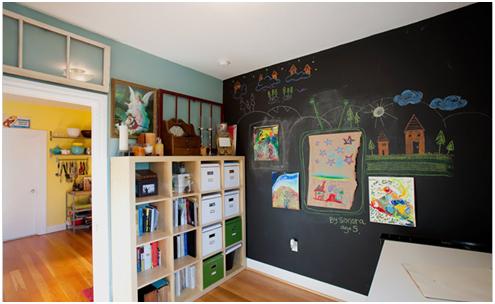 Tafelfarbe im Kinderzimmer: Die schönsten Ideen und Inspirationen