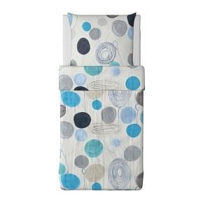 Textilien aus der EIVOR Kollektion von IKEA: EIVOR FARGA Bettwäsche