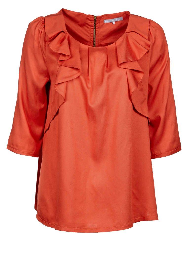 Bluse in Tangerine Tango: Der Sommer wird Orangerot! (Foto: Zalando.de)