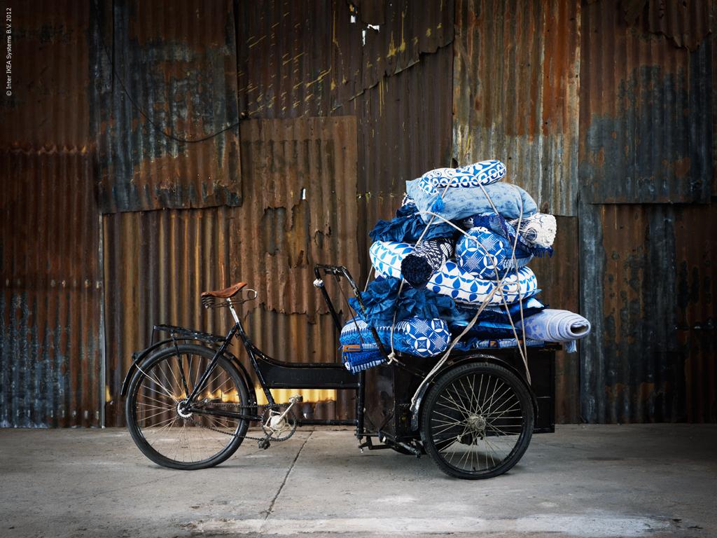 Blaue Inspiration für Zuhause