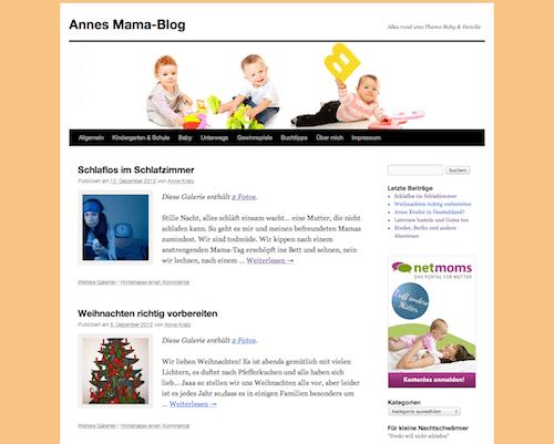Gefunden als Mama Blog Berlin: Annes Mama-Blog