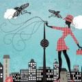 """Motiv """"Air du Berlin"""" von Elisandra (http://elisandra.com)"""