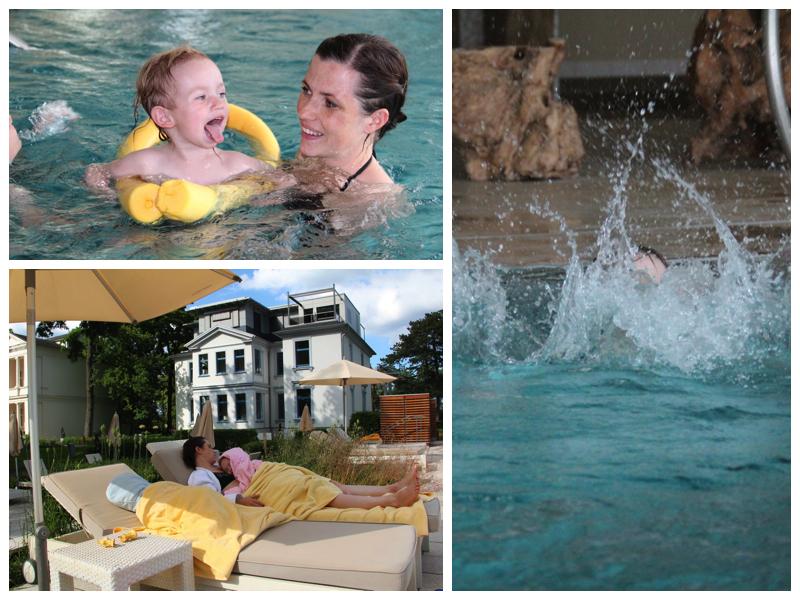 Spaß und Entspannung im und am Pool