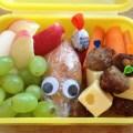 Guck mal Kind, dein Essen hat Augen!