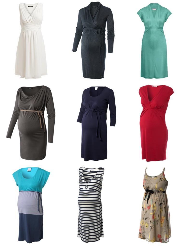 Immer wieder: Schwangerschaftskleider (Fotos: ambellis.de)