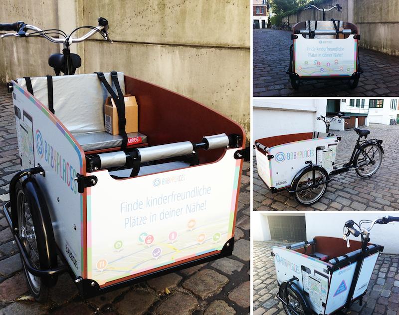 Die Babboe Lastenrad Tour mit Babyplaces: Das Tourenrad!