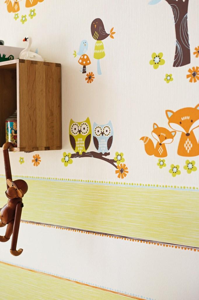 eulen und f chse im kinderzimmer berlinfreckles. Black Bedroom Furniture Sets. Home Design Ideas