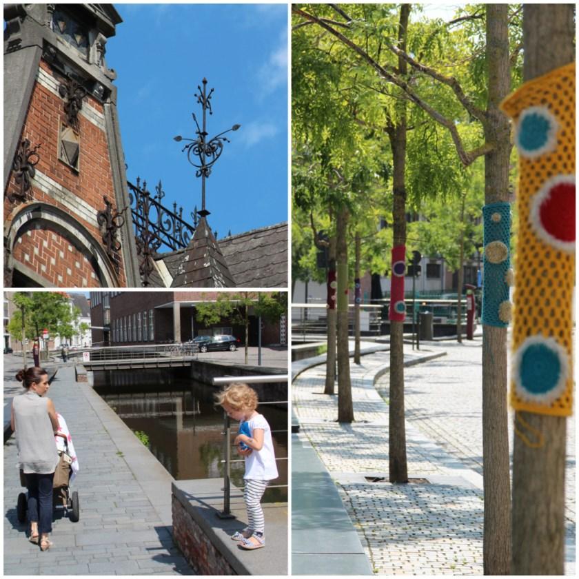 Der Melaan war früher eine der Grachten, die Mechelen durchzogen.