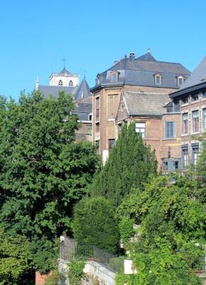 Blick aus dem Crowne Plaza Liège