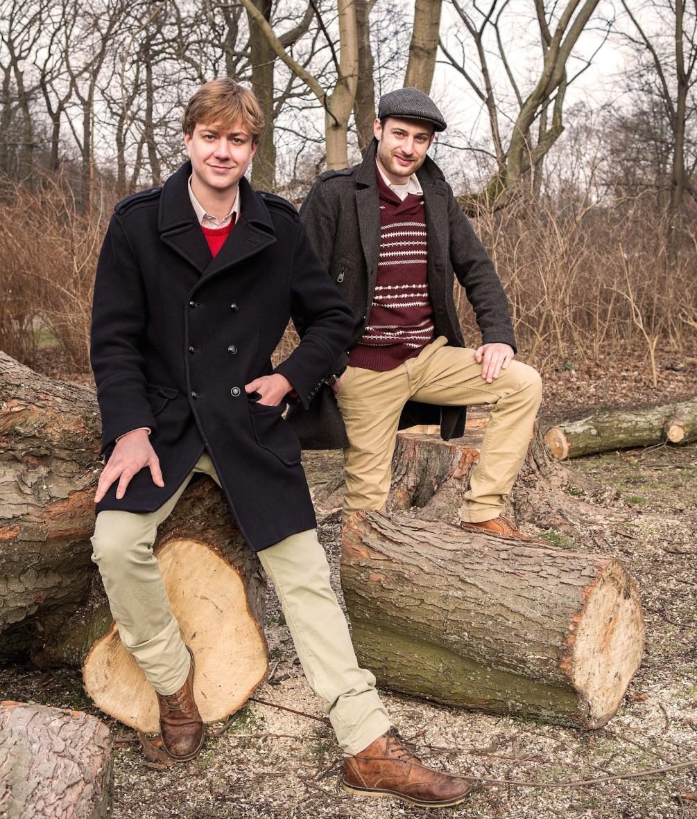 Maurice von Glasenapp und Jean-Baptiste Artu sind die Geschäftsführer von Mondpetit Kinderzimmer