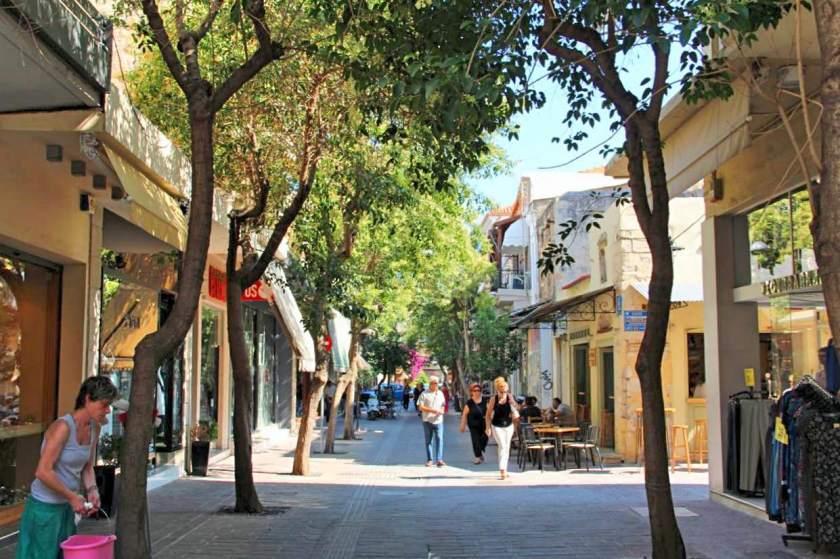 In den Straßen von Chanias Altstadt