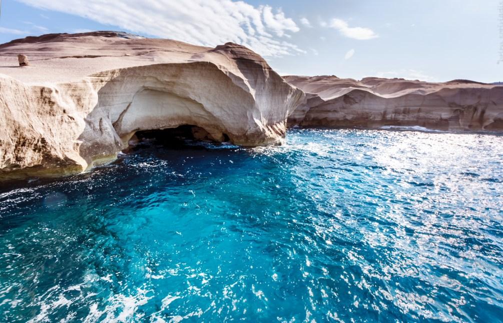 Strandtipp für Griechenland: Der Sarakiniko Strand auf Milos